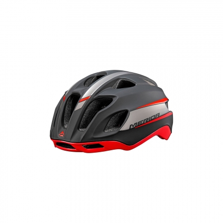 Casco bicicleta de carretera Team Road Rojo