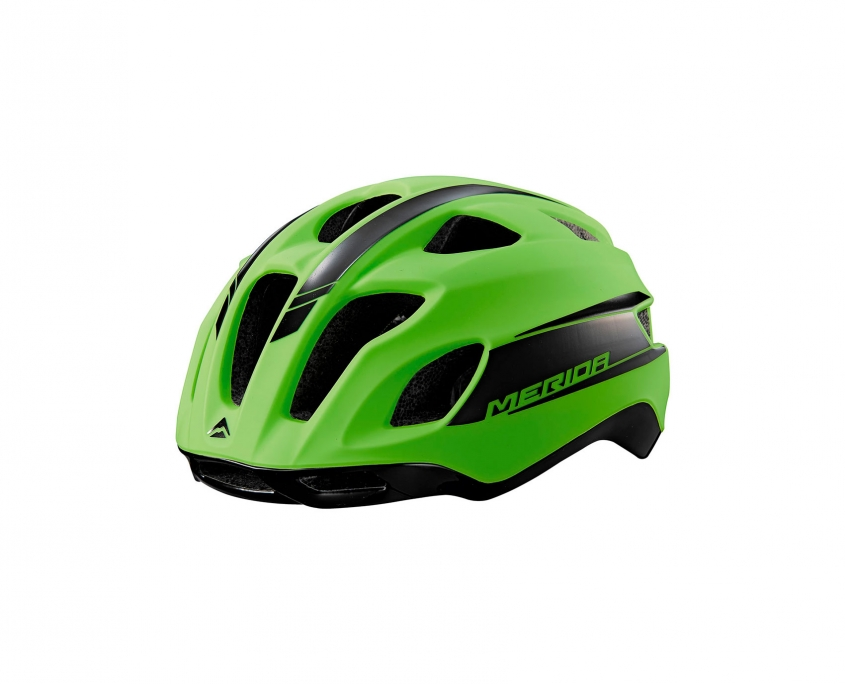 Casco bicicleta de carretera Team Road Verde