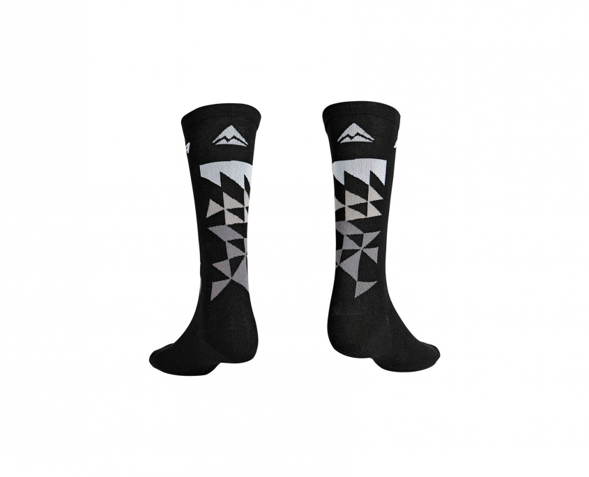Calcetines ciclismo mtb gris