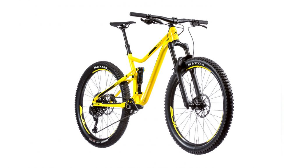 Bicicleta MTB doble suspension One Forty 800 360º